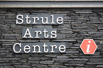English: Strule Arts Centre, Townhall Square, ...