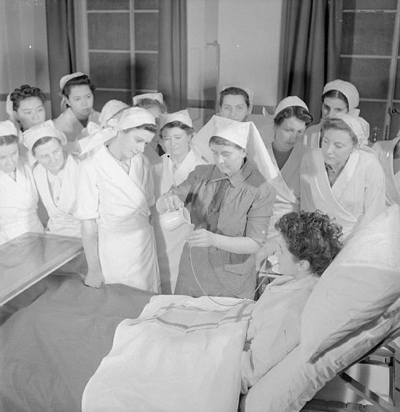 File:Student Nurse- Life at St Helier Hospital, Carshalton, Surrey, 1943 D12802.jpg