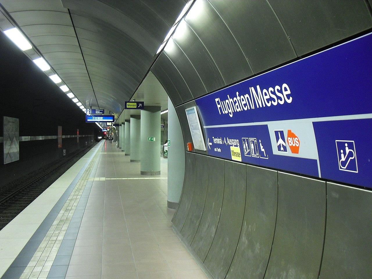 Bahnhof Stuttgart Flughafen/Messe