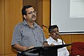 Subhabrata Chaudhuri Addressing - Opening Session - VMPME Workshop - Science City - Kolkata 2015-07-15 8549.JPG