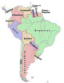 Peru Karte Südamerika.Portal Südamerika Alte Version Wikipedia