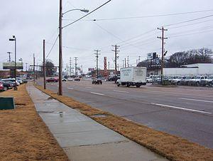 Berclair, Memphis - Summer Ave in Berclair (2008)