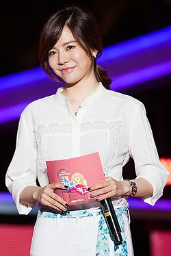 Sunny performing at Radio MBC in September 2014 01.jpg