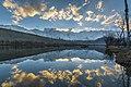 Sunset at Katpanah Lake Skardu.jpg