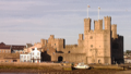 Sunset on Caernarfon castle (14321181527).png