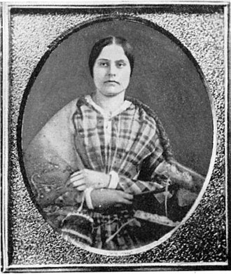 Susan B. Anthony - Headmistress Susan B. Anthony in 1848 at age 28