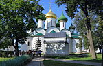 Suzdal Monastery of Saint Euthymius Transfiguration Cathedral IMG 0551 1725.jpg