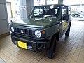 Suzuki Jimny XG (3BA-JB64W-JXGR) front.jpg