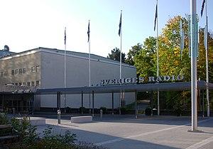 Radiohuset (Stockholm) - Radiohusets entrance