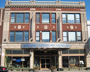 English: Swedish American Museum in Chicago