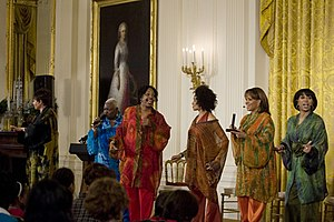 Sweet Honey in the Rock - Performing at the White House in September 2009