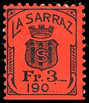 Switzerland La Sarraz 1904 revenue 1 1.jpg