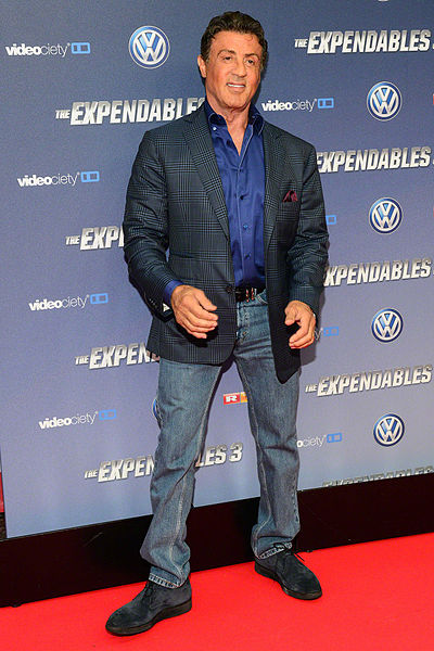 Picture of an author: Sylvester Stallone