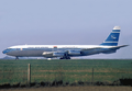 Syrian Arab Airlines Boeing 707-400 G-APFB LBG February 1975.png
