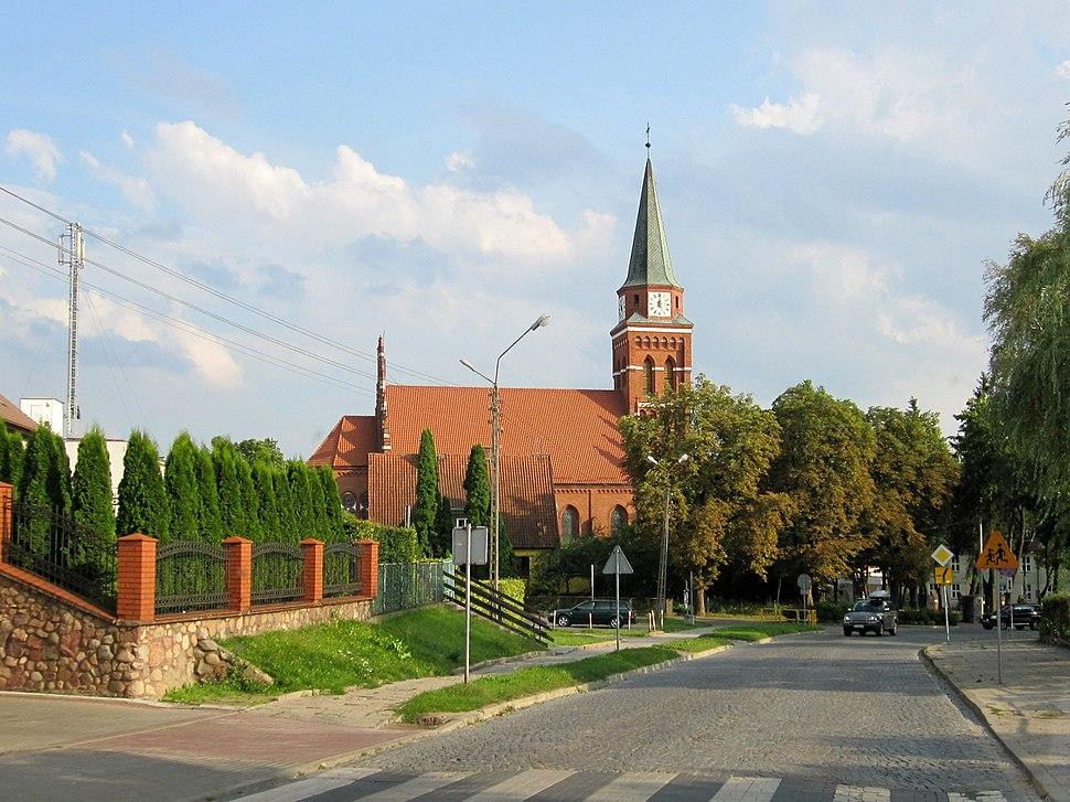 Szczytno - kościół WNMP