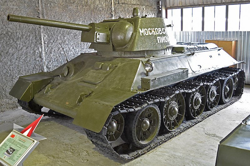 File:T-34-76 Medium Tank (37661605271).jpg
