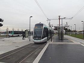 Image illustrative de l'article Athis-Mons - Porte de l'Essonne (tramway d'Île-de-France)