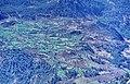 Taşeli-Plateau 09 04 1984 Ermenek Çayı-Tal bei Kösecobanlı Feldbau.jpg