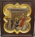 Taddeo gaddi, storie di cristo e di s. francesco (armadio di s. croce), 1335-40 ca. 17 approvaz. regola da innocenzo III.JPG