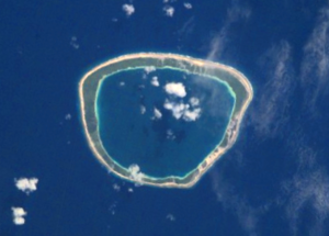 Taiaro - NASA picture of Taiaro Atoll.