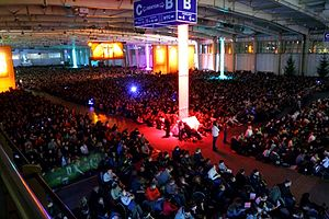 Poznań International Fair - Between 29 December 2009 and 2 January 2010, Poznan International Fair - Międzynarodowe Targi Poznańskie (MTP) hosted participants of Taizé's 32nd European Meeting for Young Adults