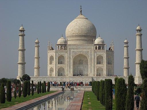 Taj mahal-front view
