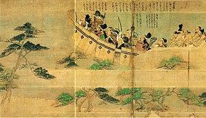 Mōko Shūrai Ekotoba - Image: Takezaki suenaga ekotoba 4