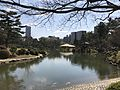 Takueichi Pond and Seifukan Teahouse in Shukkei Garden 3.jpg