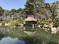 Takueichi Pond and Yuyutei Pavilion in Shukkei Garden.jpg