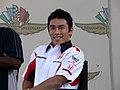 Takuma Sato 2006 United States GP (178216945).jpg