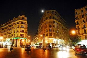 Talaat Harb Street - Talaat Harb Square