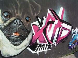Taller de Graffiti 2007 detrás de la universid...