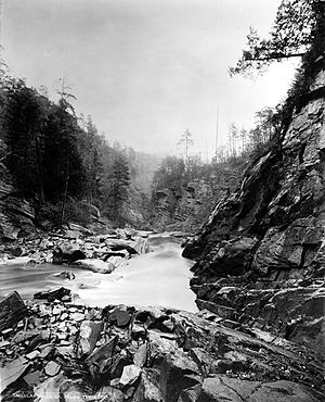 Tallulah River - The Tallulah River, circa 1894