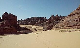 Algerian Desert - Tamanrasset desert