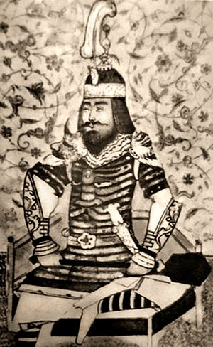 Timur - A Timurid-era illustration of Timur
