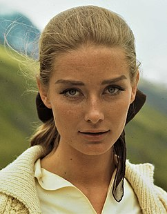 Tania Mallet British actress and model
