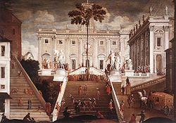 Tassi, Agostino - Competition on the Capitoline Hill - 1630s.jpg