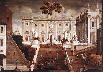 Agostino Tassi - Competition on the Capitoline Hill