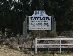 Sign on nearby WIS 95
