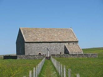 Teampall Mholuaidh - Teampall Mholuaidh, 13th Century temple in the village of Eoropie