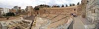 Teatro Romano Cartagena vista panorámica.jpg