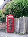 Telephone box, Urchfont - geograph.org.uk - 1430858.jpg