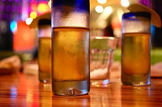 Tequila - Frosty tequila shots