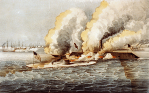 a description of the battle at hampton roads which was part of the peninsula campaign The battle of hampton roads the battle was a part of the effort she also imposed other constraints on the peninsula campaign then being.