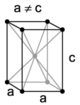 Tetragonal, body-centered