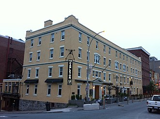 Richard Bulkeley (civil servant) - The Carleton, Halifax, Nova Scotia