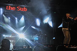 The Subs op Westerpop, Delft in 2011.