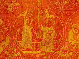 "Samite - Image: The ""Martyr Cope"" (1270)"