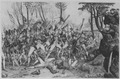 The Battle of Bunker's Hill, near Boston. June 1775. Copy of engraving by James Mitan after John Trumbull, published 180 - NARA - 532897.tif