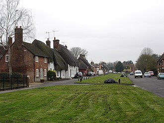 Downton, Wiltshire - Image: The Borough, Downton geograph.org.uk 373684